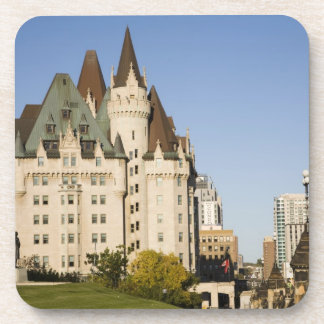 Chateau Laurier Hotel in Ottawa, Ontario, Canada 2 Beverage Coaster