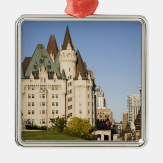 Chateau Laurier Hotel in Ottawa, Ontario, Canada 2 Metal Ornament