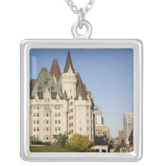 Chateau Laurier Hotel in Ottawa, Ontario, Canada 2 Custom Necklace