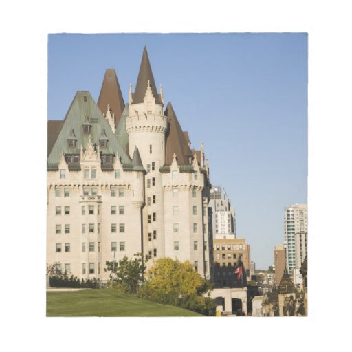Chateau Laurier Hotel in Ottawa, Ontario, Canada 2 Memo Pad