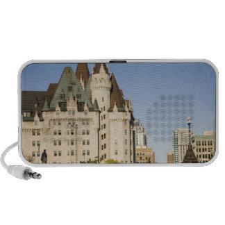 Chateau Laurier Hotel in Ottawa, Ontario, Canada 2 Mini Speakers