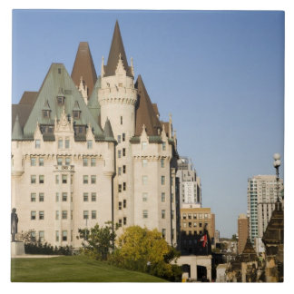 Chateau Laurier Hotel in Ottawa, Ontario, Canada 2 Ceramic Tiles