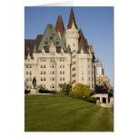 Chateau Laurier Hotel in Ottawa, Ontario, Canada Card