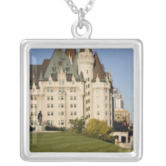 Chateau Laurier Hotel in Ottawa, Ontario, Canada Personalized Necklace