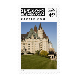 Chateau Laurier Hotel in Ottawa, Ontario, Canada Postage Stamp