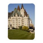 Chateau Laurier Hotel in Ottawa, Ontario, Canada Rectangular Magnet