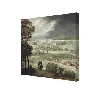 Chateau-Neuf de St. Germain-en-Laye in 1655 Canvas Print