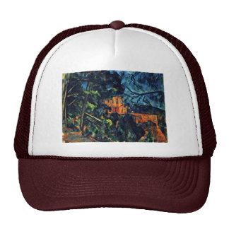 Château Noir By Paul Cézanne Best Quality Hat