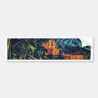 Château Noir By Paul Cézanne (Best Quality) Car Bumper Sticker