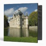 Chateau of Azay-le-Rideau, Indre-et-Loire, 2 Vinyl Binder