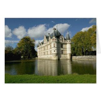 Chateau of Azay-le-Rideau, Indre-et-Loire, 2 Card