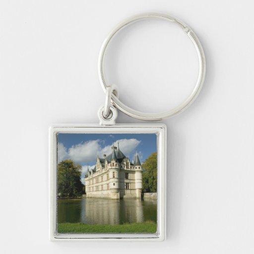 Chateau of Azay-le-Rideau, Indre-et-Loire, 2 Key Chains