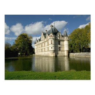 Chateau of Azay-le-Rideau, Indre-et-Loire, 2 Postcard