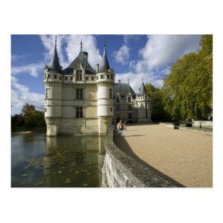 Chateau of Azay-le-Rideau, Indre-et-Loire, 3 Postcard
