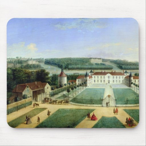 Chateau of Charles Guillaume Le Normant Mouse Pads