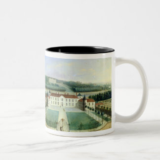 Chateau of Charles Guillaume Le Normant Two-Tone Coffee Mug