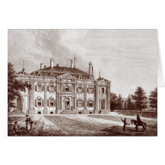 Chateau of Ferney-Voltaire Card: Home of Voltaire