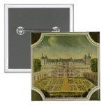 Chateau Saint-Germain-en-Laye 2 Inch Square Button