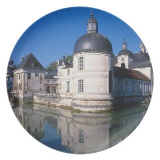 Chateau Tanlay, Tanlay, Burgundy, France Melamine Plate