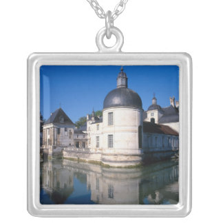 Chateau Tanlay, Tanlay, Burgundy, France Silver Plated Necklace