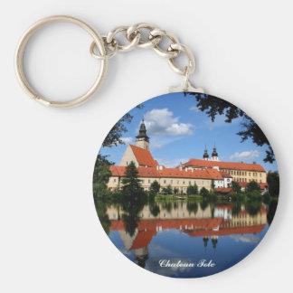 Chateau Telc Keychain