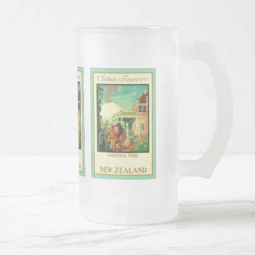Château Tongariro ~ National Park ~ New Zealand ~ Mugs