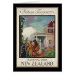 Chateau Tongariro New Zealand Greeting Cards