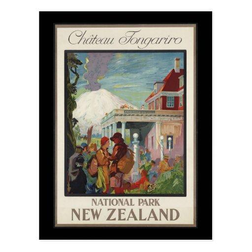 Chateau Tongariro New Zealand Post Cards