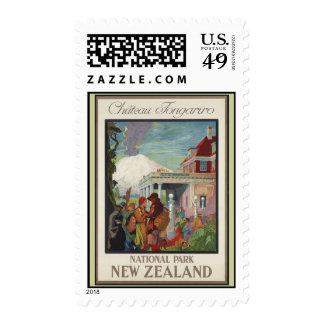 Chateau Tongariro New Zealand Postage