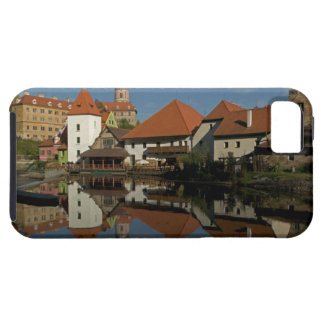 Chateau tower, Vltava River, Cesky Krumlov, iPhone SE/5/5s Case
