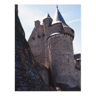 Chateaugiron castle postcard