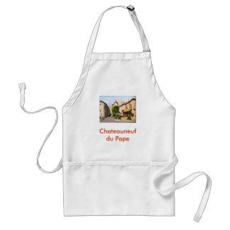 """""""Chateauneuf du Pape"""" apron"""
