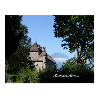 Chateaux Chillon Postcard
