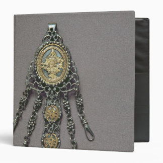 Chatelaine, late 18th century 3 ring binder