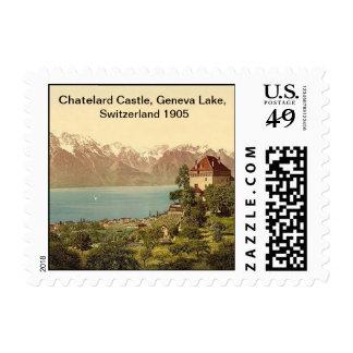 Chatelard Castle, Geneva Lake, Switzerland 1905 Postage