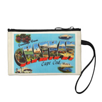 Chatham Cape Cod Massachusetts MA Travel Souvenir Coin Wallet
