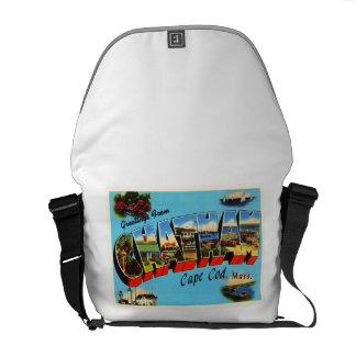 Chatham Cape Cod Massachusetts MA Travel Souvenir Messenger Bag