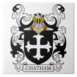 Chatham Coat of Arms I Ceramic Tile
