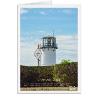 Chatham Light - Cape Cod. Card