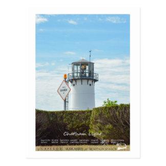 Chatham Light - Cape Cod. Postcard