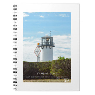 Chatham Light - Cape Cod. Spiral Notebook