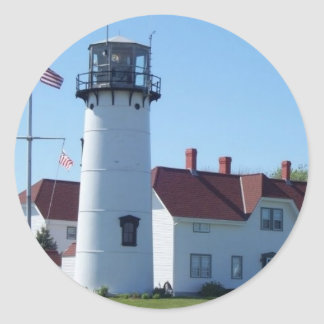 Chatham Light Classic Round Sticker