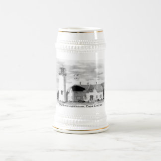 Chatham Lighthouse, Cape Cod Ma. Beer Stein