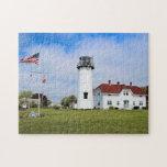 "Chatham Lighthouse, Cape Cod Massachusetts Jigsaw Puzzle<br><div class=""desc"">Chatham Lighthouse,  Cape Cod Massachusetts</div>"