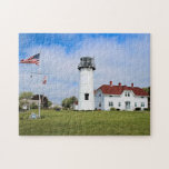 "Chatham Lighthouse, Cape Cod Massachusetts Jigsaw Puzzle<br><div class=""desc"">Chatham Lighthouse,  Cape Cod Massachusetts</div>"
