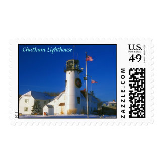 Chatham Lighthouse Cape Cod Postage