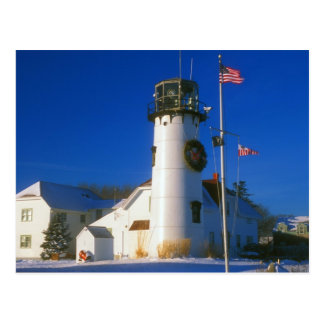 Chatham Lighthouse Cape Cod Postcard