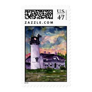Chatham Lighthouse Marthas Vineyard Stamps