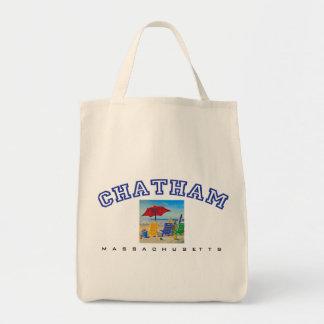 Chatham, MA - Beach Tote Bag