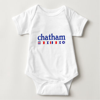 Chatham, MA - Maritme Spelling Baby Bodysuit